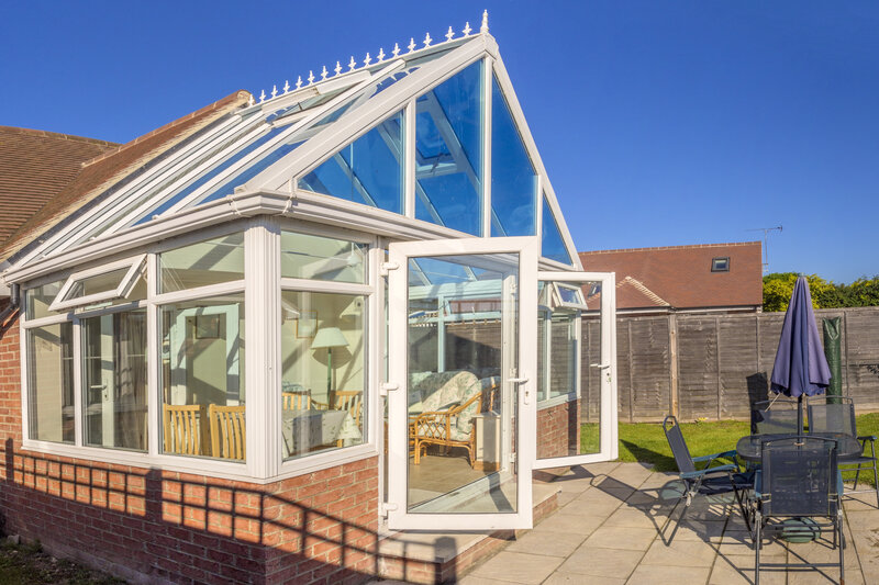 Glass Conservatory in Oxfordshire United Kingdom